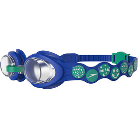 speedo Sea Squad Gafas Niños, beautiful blue/emerald/clear